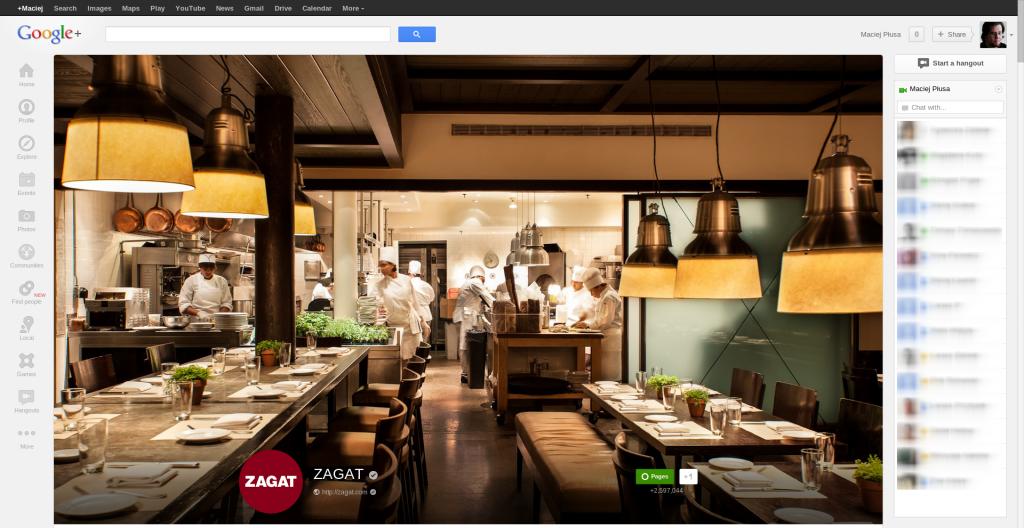 ZAGAT - Google+